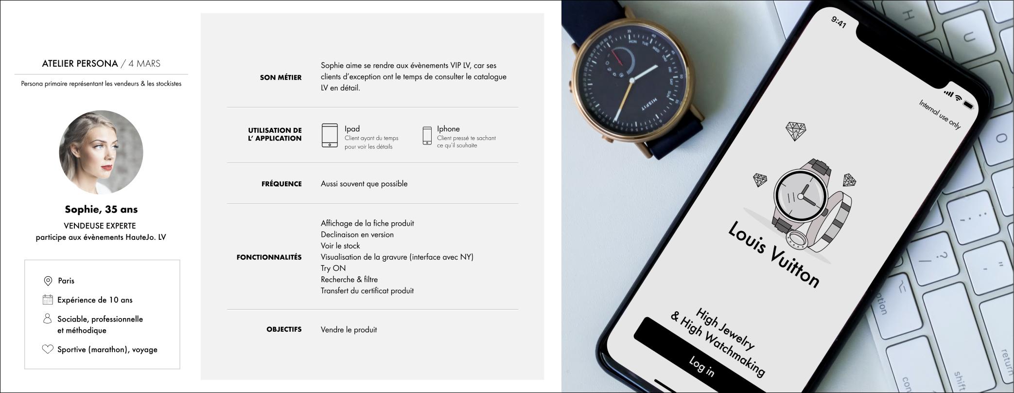 Mockup webdesign site mobile IOS - Bijoux